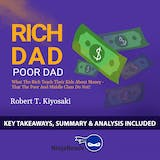 Summary of Rich Dad Poor Dad: What the Rich Teach Their Kids About Money - That the Poor and Middle Class Do Not! by Robert T. Kiyosaki: Key Takeaways, Summary & Analysis Included - undefined