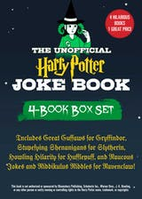 The Unofficial Harry Potter Joke Book 4-Book Box Set: Includes Great Guffaws for Gryffindor, Stupefying Shenanigans for Slytherin, Howling Hilarity for Hufflepuff, andRaucous Jokes and Riddikulus Riddles for Ravenclaw! - undefined