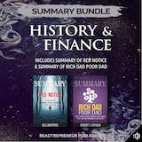 Summary Bundle: History & Finance | Readtrepreneur Publishing: Includes Summary of Red Notice & Summary of Rich Dad Poor Dad - undefined
